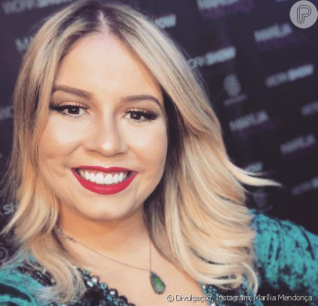 Marília Mendonça compartilha desabafo sobre decisão de parar de fumar em site de textos on-line, na última segunda-feira, dia 11 de março de 2019