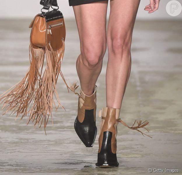 A marca Bobstore apresentou o estilo western nas passarelas da Semana de Moda de São Paulo