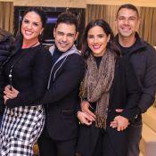 Wanessa Camargo viajou com pai, Zezé, e Graciele Lacerda no Carnaval: 'Família'