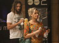 Namorado e Leticia Spiller levam filha da atriz ao cinema no Rio. Fotos!
