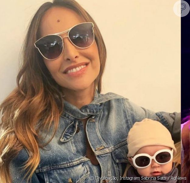 Sabrina Sato recebeu Anitta em sua casa neste sábado, 23 de março de 2019