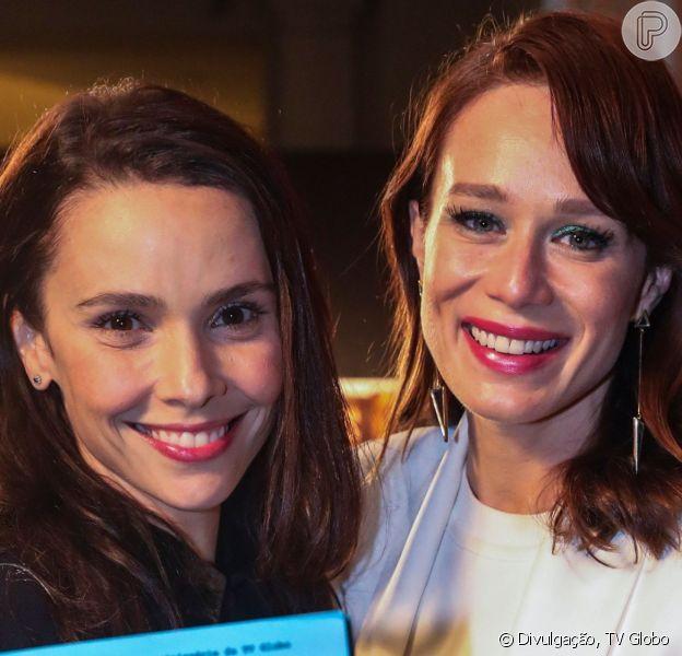 Débora Falabella e Mariana Ximenes terão um caso em minissérie 'Se Eu Fechar os Olhos Agora'.