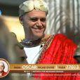 Oscar Maroni aproveitou bem a festa romana em 'A Fazenda 7'
