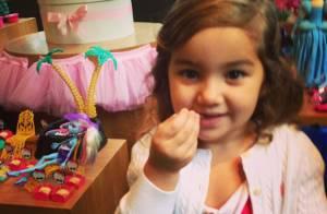 Olívia, filha de Flávia Alessandra e Otaviano Costa, faz 4 anos. Veja fotos!