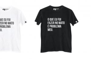 Estilo à la Sandy e Junior: marca aposta em camisetas com músicas da dupla