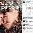 Carol Nakamura usou o Instagram para negar reconciliação com o ex-noivo, Sidney Sampaio