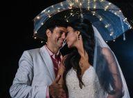 138b671d2 Renda francesa, bordado italiano e cristal: o vestido da noiva de Jorge  Vercillo