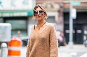 Mix de estilos no inverno: aprenda a usar saias com casaco de moletom!