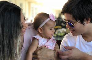 Mayra Cardi posta fotos dos filhos e fãs notam semelhança: 'Como são parecidos'