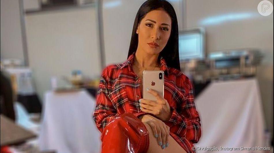 Simaria usou um  look pra lá de ousado no show que fez no sábado, 27 de abril de 2019, em Fortaleza