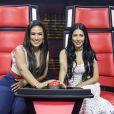 Simone e Simaria são juradas do 'The Voice Kids'