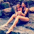 Grazi Massafera é mãe de Sofia, de 6 anos, do casamento com Cauã Reymond