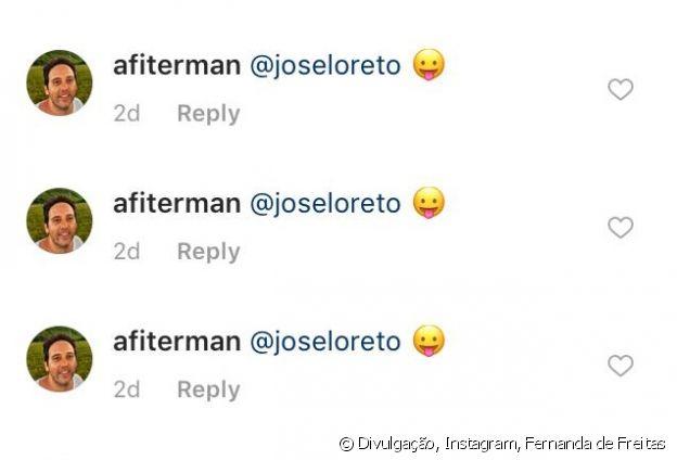 O diretor Allan Fiterman respondeu ao comentário de José Loreto