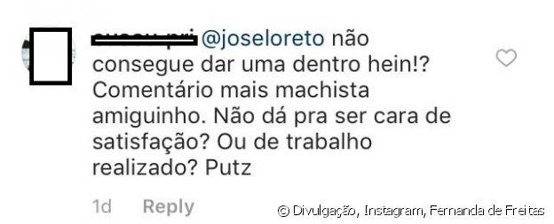 Fãs repercutem comentário de José Loreto