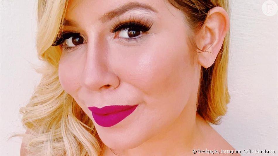 Marília Mendonça ironizou o comentário do jornalista Vladimir Alves sobre como o corpo da cantora estaria chamando mais atenção do que a música