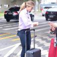 Grazi Massafera foi clicada no Aeroporto de Congonhas, em São Paulo, nesta quarta-feira, 8 de maio de 2019
