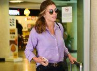 Trend comfy: Grazi Massafera aposta em look despojado para viagem. Fotos!