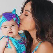 Sabrina Sato mostra fotos com filha e Ivete Sangalo elogia: 'Mãe maravilhosa'