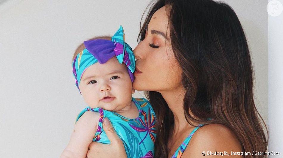 Sabrina Sato comemorou o primeiro Dia das Mães neste domingo, 12 de maio de 2019