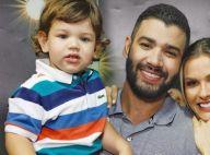 Gusttavo Lima se diverte com reação do filho Gabriel diante de aviões. Vídeo!
