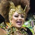 Viviane Araujo descartou se aposentar do carnaval, onde foi campeã em São Paulo neste ano pela Mancha Verde, mas admitiu: 'C omo rainha uma hora vou ter que parar '