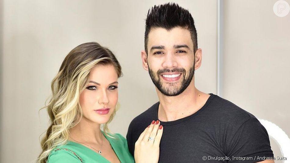 Andressa Suita falou sobre casamento com Gusttavo Lima em entrevista