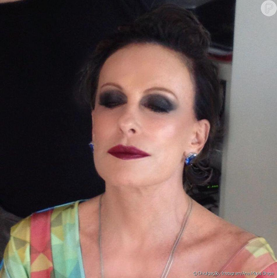 Ana Maria Nua cabelo escuro? ana maria braga surge com visual diferente e