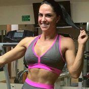 Graciele Lacerda ganha 3kg durante tratamento: 'Desencanei para congelar óvulos'