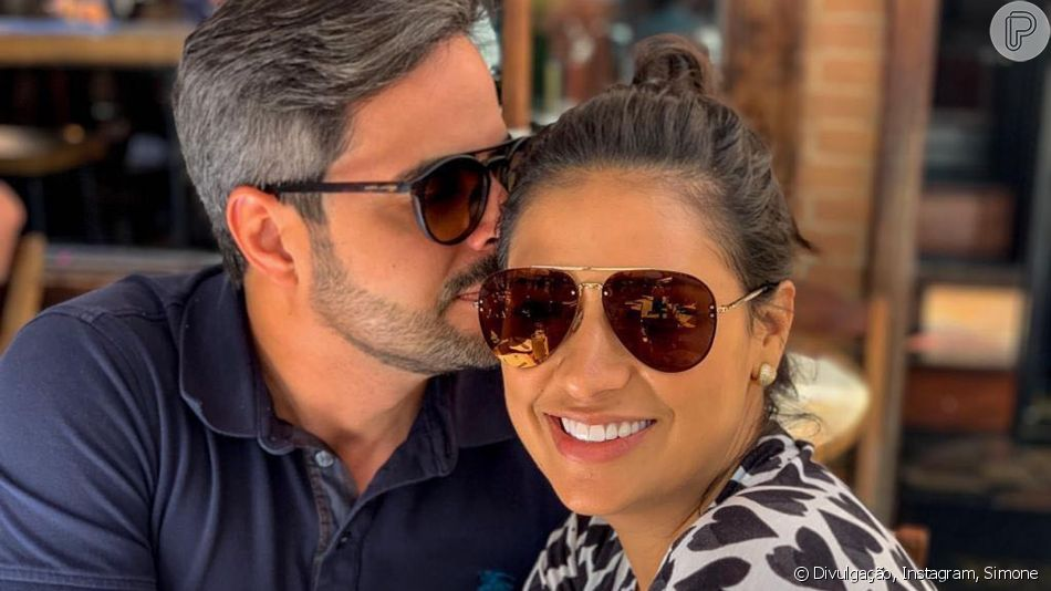 Dupla de Simaria, Simone compartilha foto com o marido, Kaká Diniz