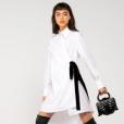 Vestido chemise de Mariana Ximenes está avaliado em R$ 2.090