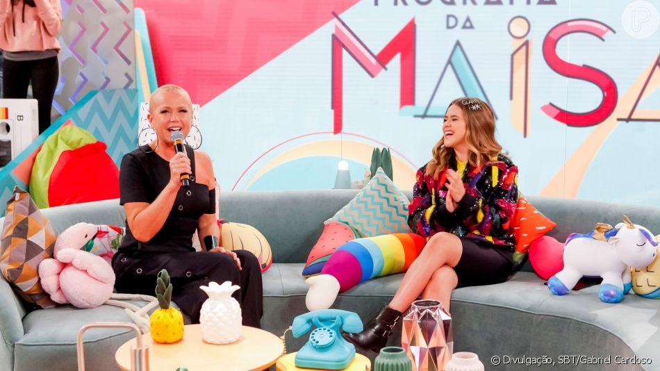 Críticas à voz, BV de Sasha e mais: Xuxa conta revelações e rebate haters no programa da Maisa deste sábado, dia 25 de abril de 2019
