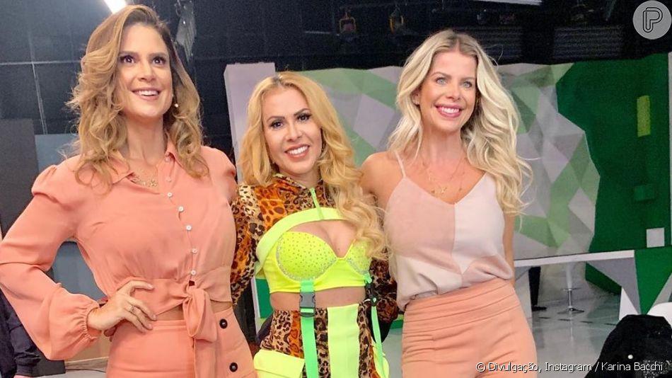 Joelma montou look com mix de trends para participar de programa nesta terça-feira, 28 de maio de 2019
