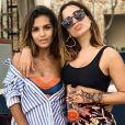 Anitta curte balada nas férias em Bali, na Indonésia, nesta sexta-feira, 31 de maio de 2019