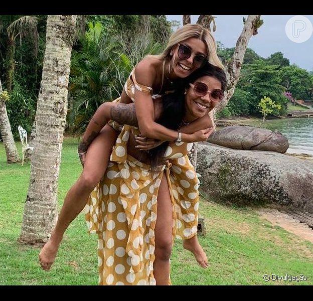 Ludmilla posta primeira foto com a namorada, Brunna Gonçalves