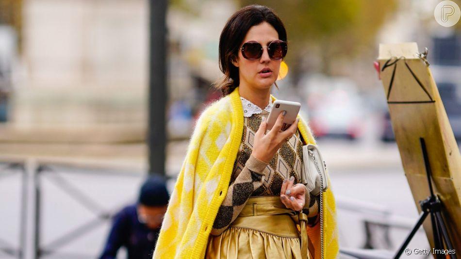 Saiba como usar amarelo nos looks de inverno!