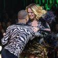 Juliana Silveira deixou o 'Dancing Brasil 1' após fraturar ossos do pé