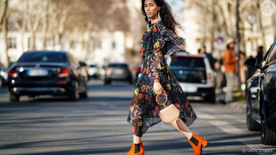 10 formas de usar o vestido com botas no inverno