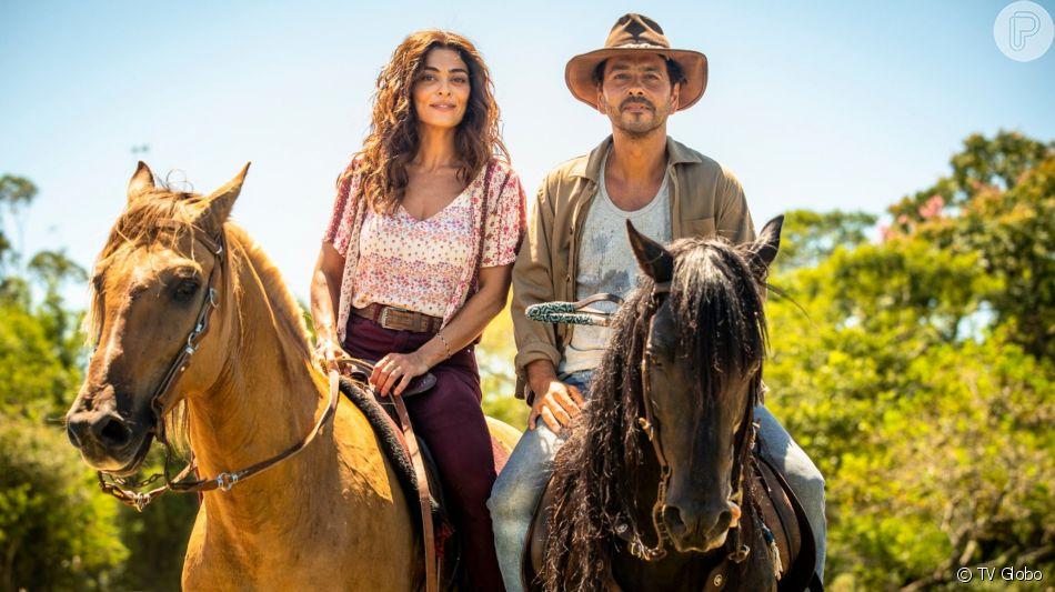 Maria (Juliana Paes) vai brigar com Amadeu (Marcos Palmeira) após o Rael (Rafael Queiroz) tentar matar a empresária e o advogado ajudar o sobrinho na novela 'A Dona do Pedaço'.