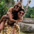 Ludmilla e Brunna Gonçalves estão namorado há sete mess
