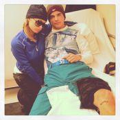 Paris Hilton passa seu aniversário no hospital com o namorado, Riper Viiperi