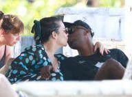 Fernanda Souza namora Thiaguinho na praia ao comemorar 35 anos. Veja fotos!