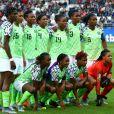Os cabelos das jogadoras da seleção nigeriana são um show a parte
