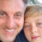 Luciano Huck explica acidente envolvendo o filho Benício: 'Praticando wakeboard'