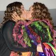 Daniela Mercury beijou a mulher, Malu Verçosa, durante a parada LGBT que aconteceu neste domingo, 23 de junho de 2019, em SP