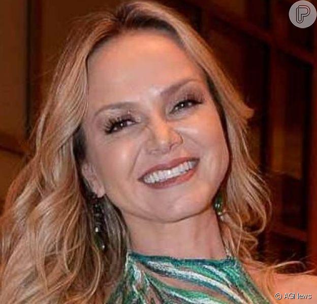 Eliana foi filmada dançando na festa de aniversário e chá de bebê de Luiza Possi nesta quarta-feira, 26 de junho de 2019