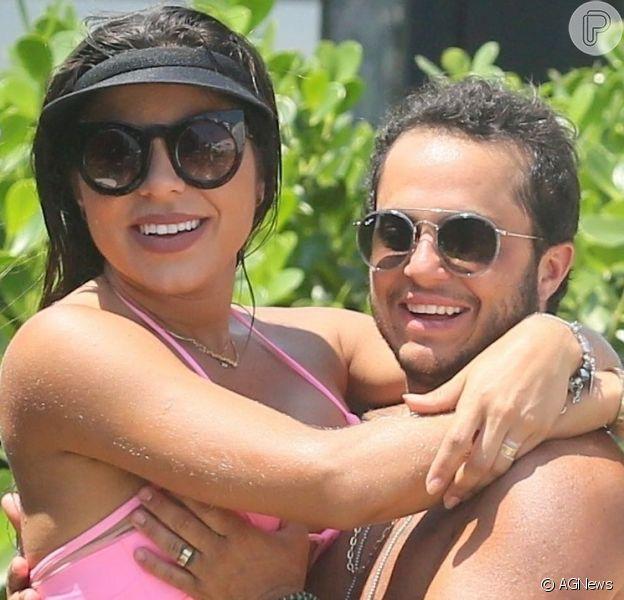 Thammy Miranda confirmou gravidez da mulher, Andressa Ferreira, nesta sexta-feira, 28 de junho de 2019
