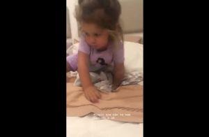 Filha de Yanna Lavigne faz travessura e não liga para bronca da mãe. Vídeo!