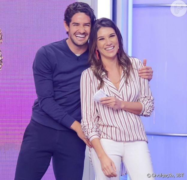 Alexandre Pato compartilhou uma foto do casamento com Rebeca Abravanel no Instagram nesta quarta-feira, 3 de julho de 2019
