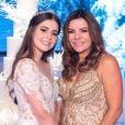 Filha de Marrone teve festa de 15 anos idealizada por ela própria e planejada junto com sua mãe, Sinara Castro, durante um ano