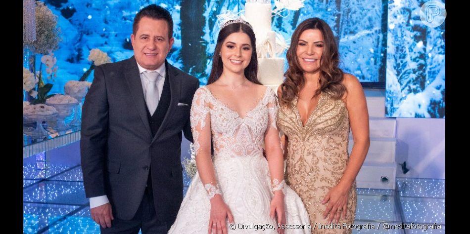 Filha de Marrone comemora 15 anos com festa de luxo